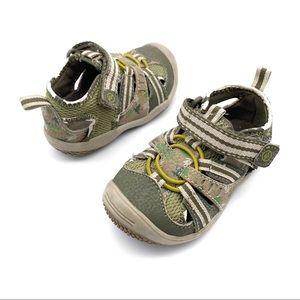 Stride Rite Green Walking Shoes Toddler Size 4.5